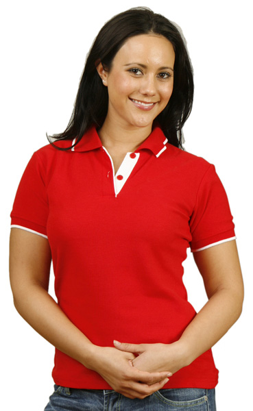 Kerang Embroidery PS48 Ladies Polo